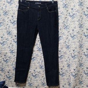 Liz Claiborne boyfriend skinny jeans size 10 NWOT